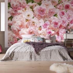 фотообои для спальни декор идеи