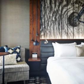 фотообои для спальни дизайн идеи