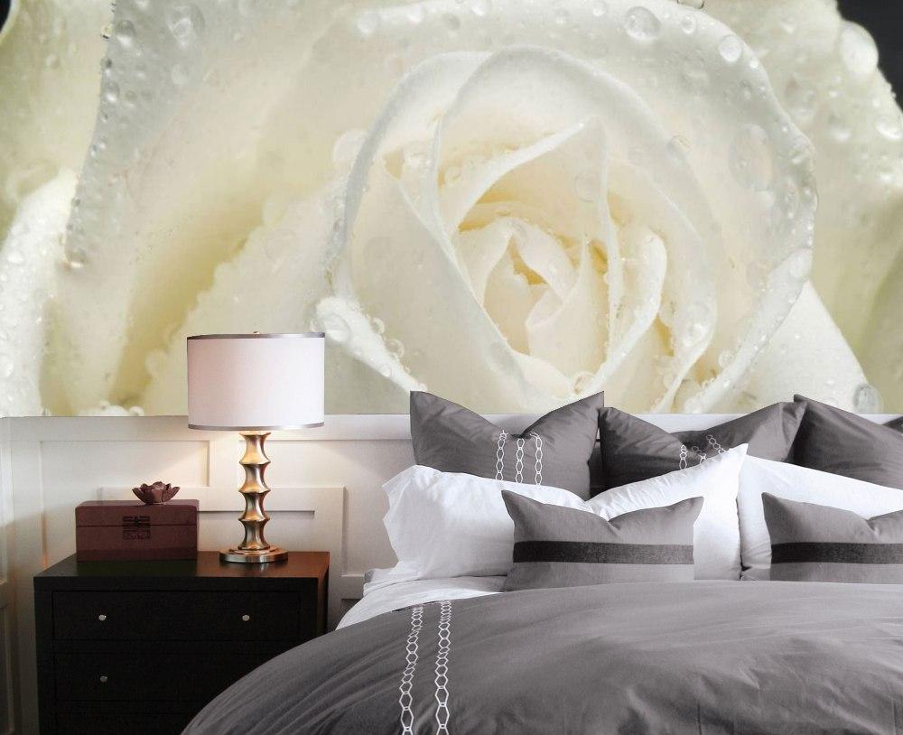 фотообои в спальню розы