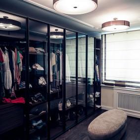 гардеробная комната 2 на 2 фото видов
