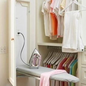гардеробная комната 2 на 2 фото идеи
