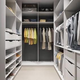 гардеробная комната 4 кв м идеи дизайна