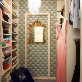 гардеробная комната 4 кв м идеи декора