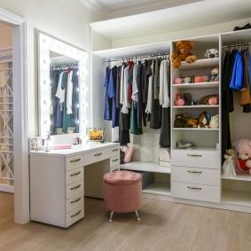 гардеробная комната в квартире идеи оформление