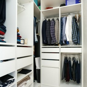 гардеробная комната в квартире варианты фото
