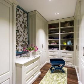 гардеробная комната в квартире идеи варианты