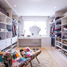 гардеробная комната в квартире фото идеи