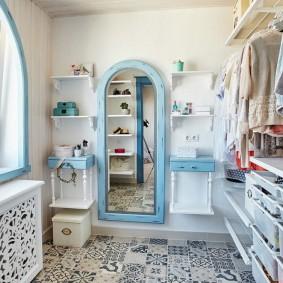 гардеробная комната в квартире дизайн фото