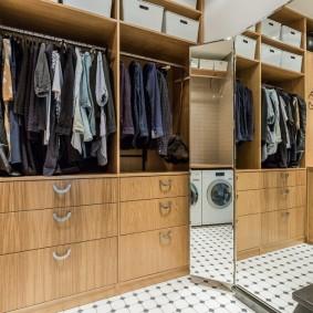 гардеробная комната в квартире фото дизайна