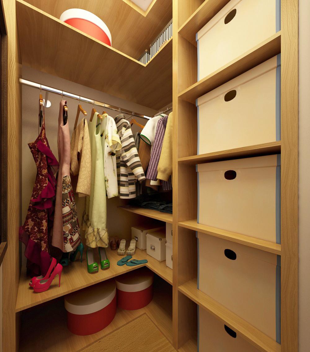 гардеробная комната в хрущевке