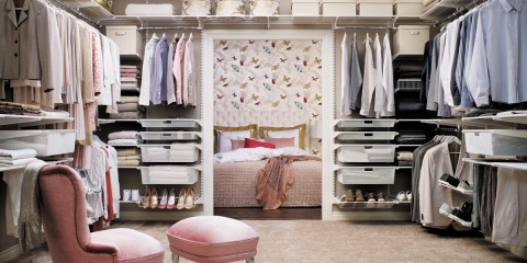 гардеробная прованс