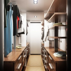 гардеробная в квартире декор