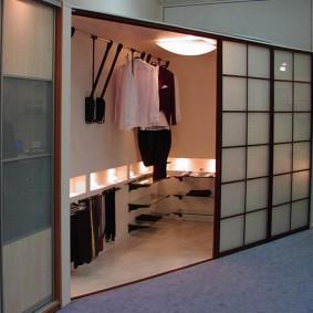 гардеробная в квартире декор идеи