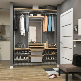гардеробная в квартире идеи декор