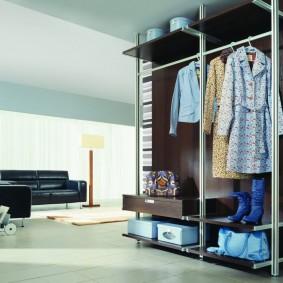 гардеробная в квартире идеи декора