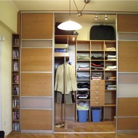 гардеробная в квартире фото декор