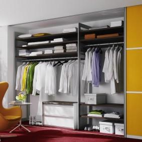 гардеробная в квартире интерьер фото