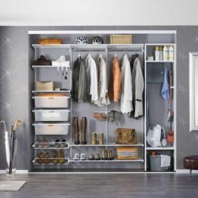 гардеробная в квартире фото интерьера