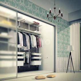 гардеробная в квартире интерьер идеи