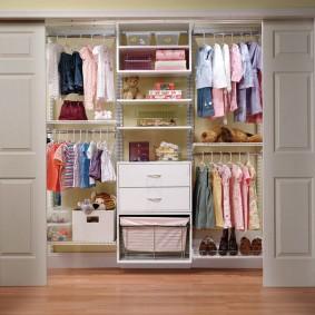 гардеробная в квартире интерьер