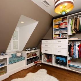 гардеробная в квартире идеи интерьер