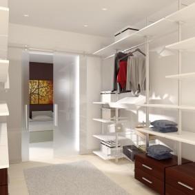 гардеробная в квартире идеи оформления