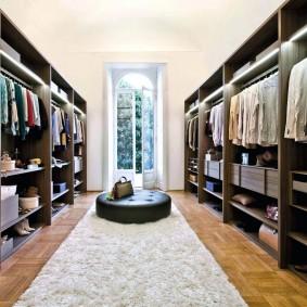 гардеробная в квартире оформление идеи
