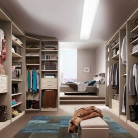 гардеробная в квартире обзор