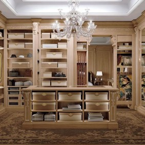 гардеробная в квартире виды дизайна