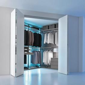 гардеробная в квартире виды оформления