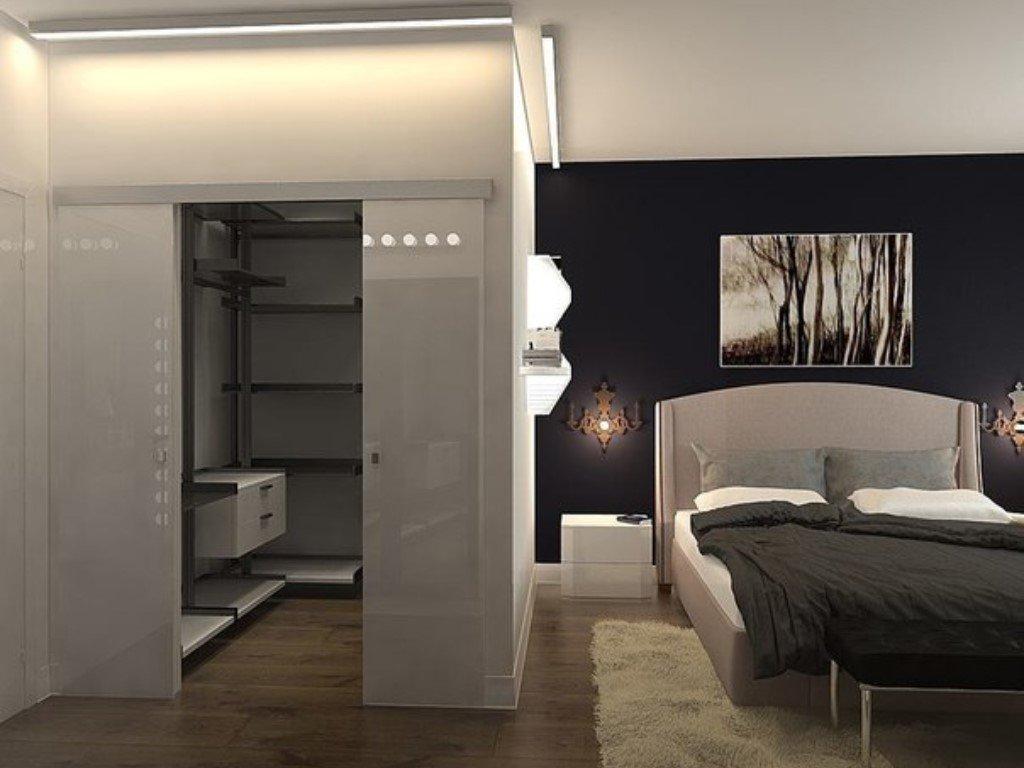 гардеробная в спальне варианты