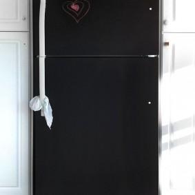 холодильник с грифельным покрытием идеи