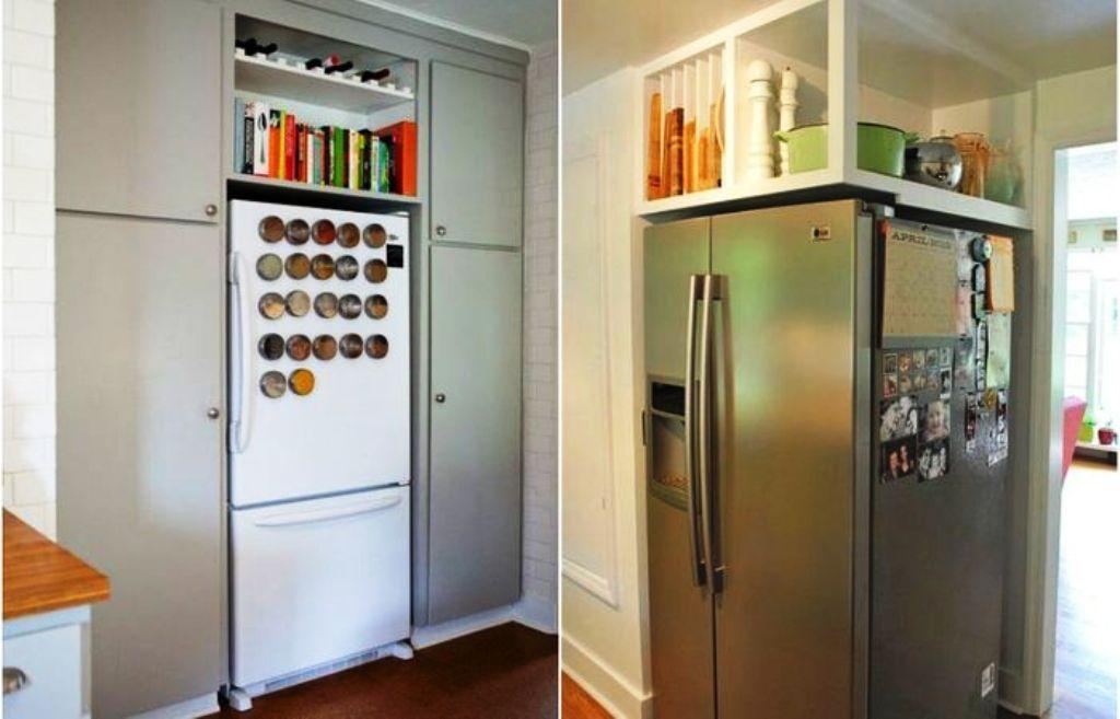 холодильник в коридоре варианты