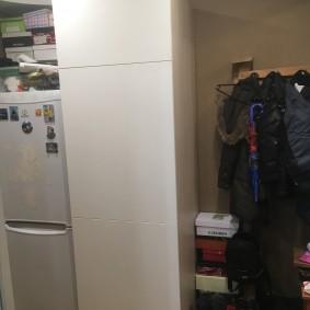 холодильник в прихожей и коридоре декор фото
