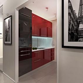 холодильник в прихожей и коридоре идеи