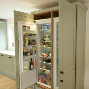 холодильник в прихожей и коридоре идеи фото