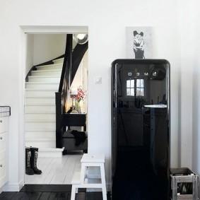 холодильник в прихожей и коридоре идеи оформление