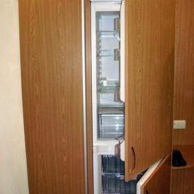 холодильник в прихожей и коридоре идеи оформления