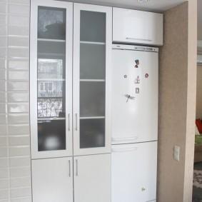 холодильник в прихожей и коридоре варианты