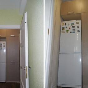 холодильник в прихожей и коридоре варианты фото