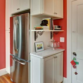 холодильник в прихожей и коридоре фото варианты