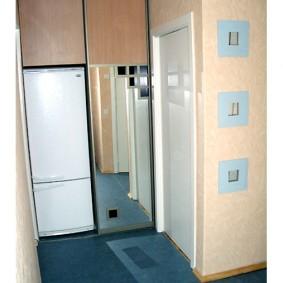 холодильник в прихожей и коридоре варианты идеи