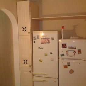холодильник в прихожей и коридоре идеи вариантов