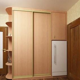 холодильник в прихожей и коридоре дизайн