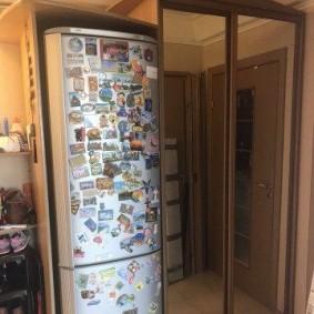 холодильник в прихожей и коридоре виды фото