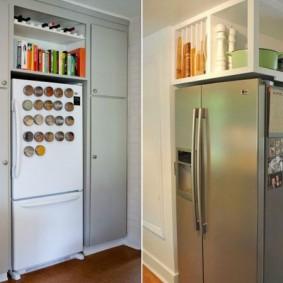холодильник в прихожей и коридоре идеи виды
