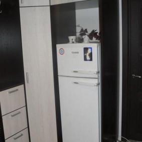 холодильник в прихожей и коридоре виды дизайна