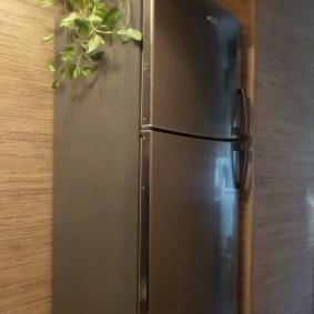 холодильник в прихожей и коридоре фото дизайна