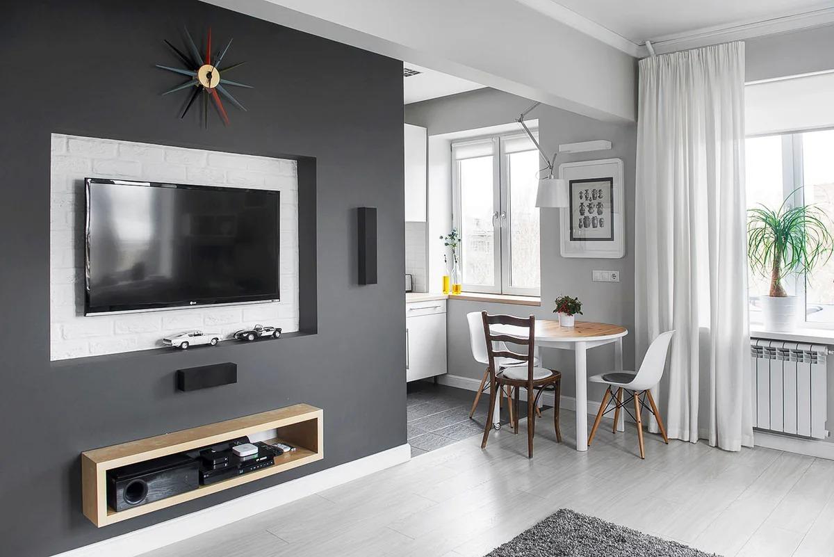 двухкомнатная квартира хрущевка современный стиль