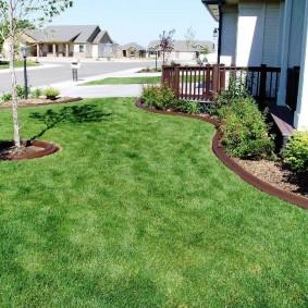 искусственный газон для дачи идеи дизайна